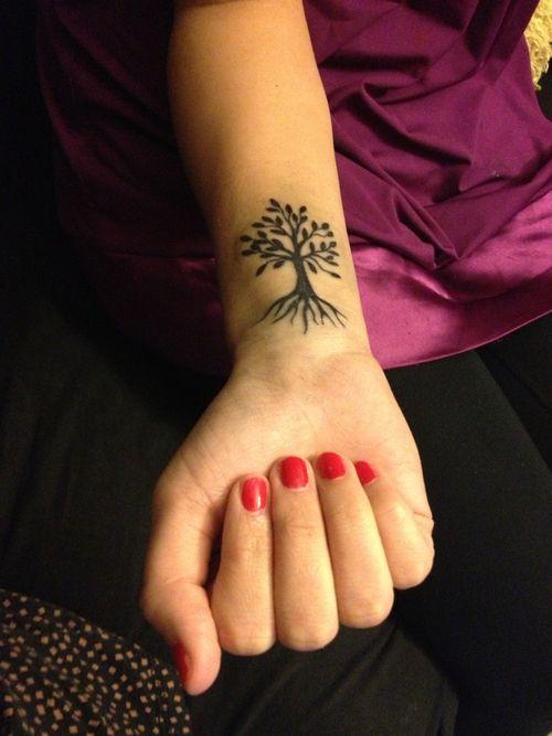 25+ Tree Of Life Tattoos On Wrists