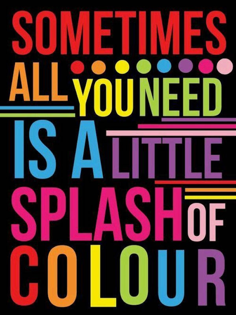 Color Your Life Quotes 60 Best Color Quotes And Sayings