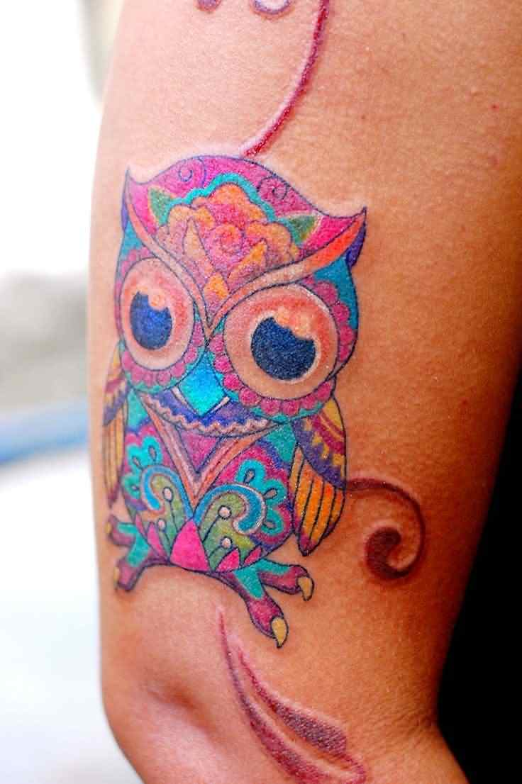 30+ Cute Owl Tattoos Ideas