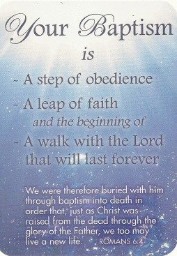 35 best baptism wish pictures and images your baptism is a step of obedience a leap of faith and beginning of a walk m4hsunfo