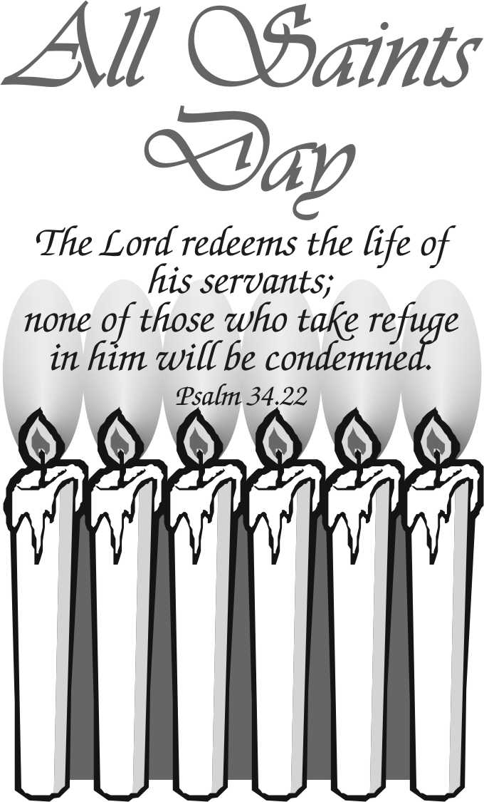 All Saints Day Coloring Pages 2014 - Worksheet & Coloring Pages