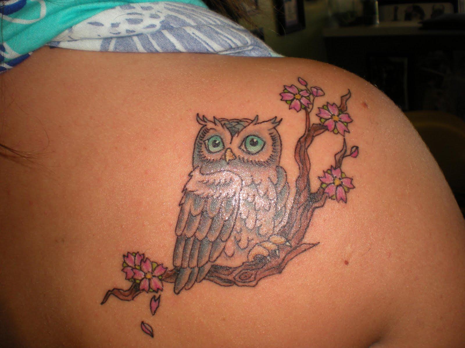 42 Owl Tattoos Ideas For Females