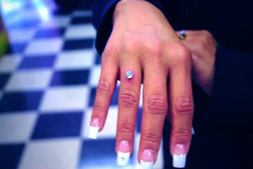 Amazing Right Hand Finger Ring Piercing