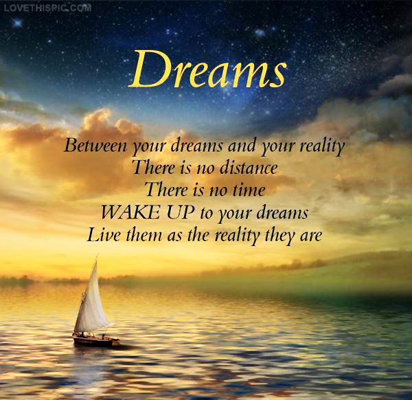 Quotes About Life And Dreams