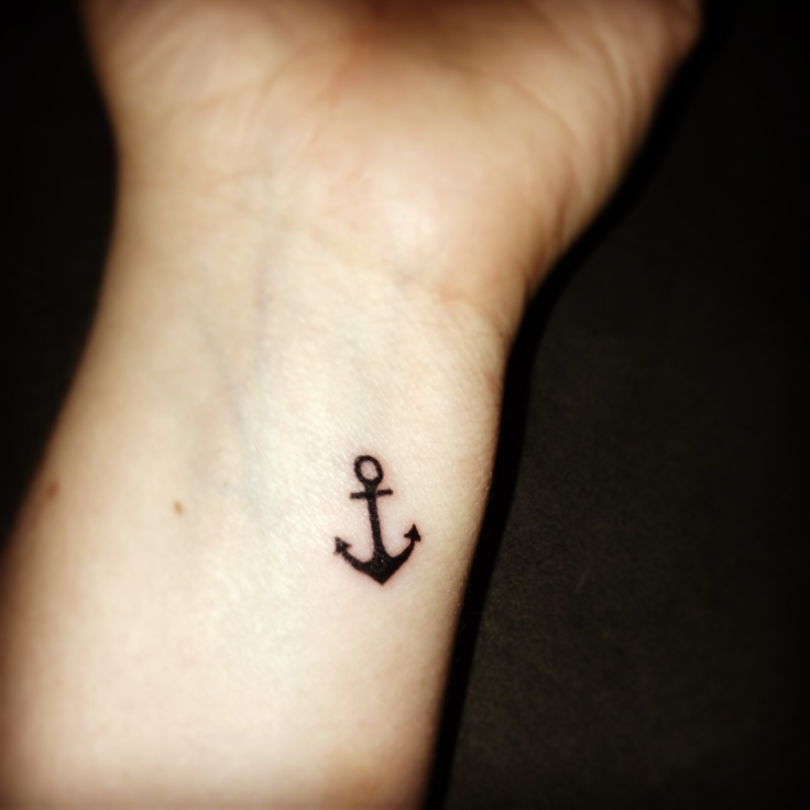 31 anchor tattoos for girls for Black anchor tattoo la