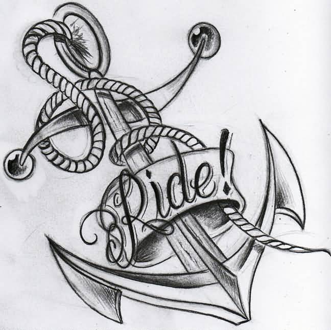 48+ Anchor Tattoo Designs And Ideas