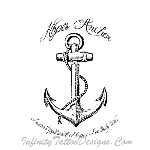 Simple Anchor Tattoo Outline 31 Simple Anchor Tattoos Designs