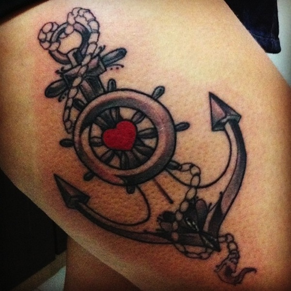 58 Anchor Tattoos For Men