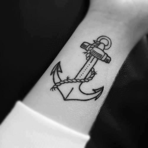 54 Anchor Tattoos For Women