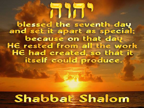 50 beautiful shabbat shalom greeting pictures and photos blessed the seventh day and set it apart as special because on that day he rested m4hsunfo