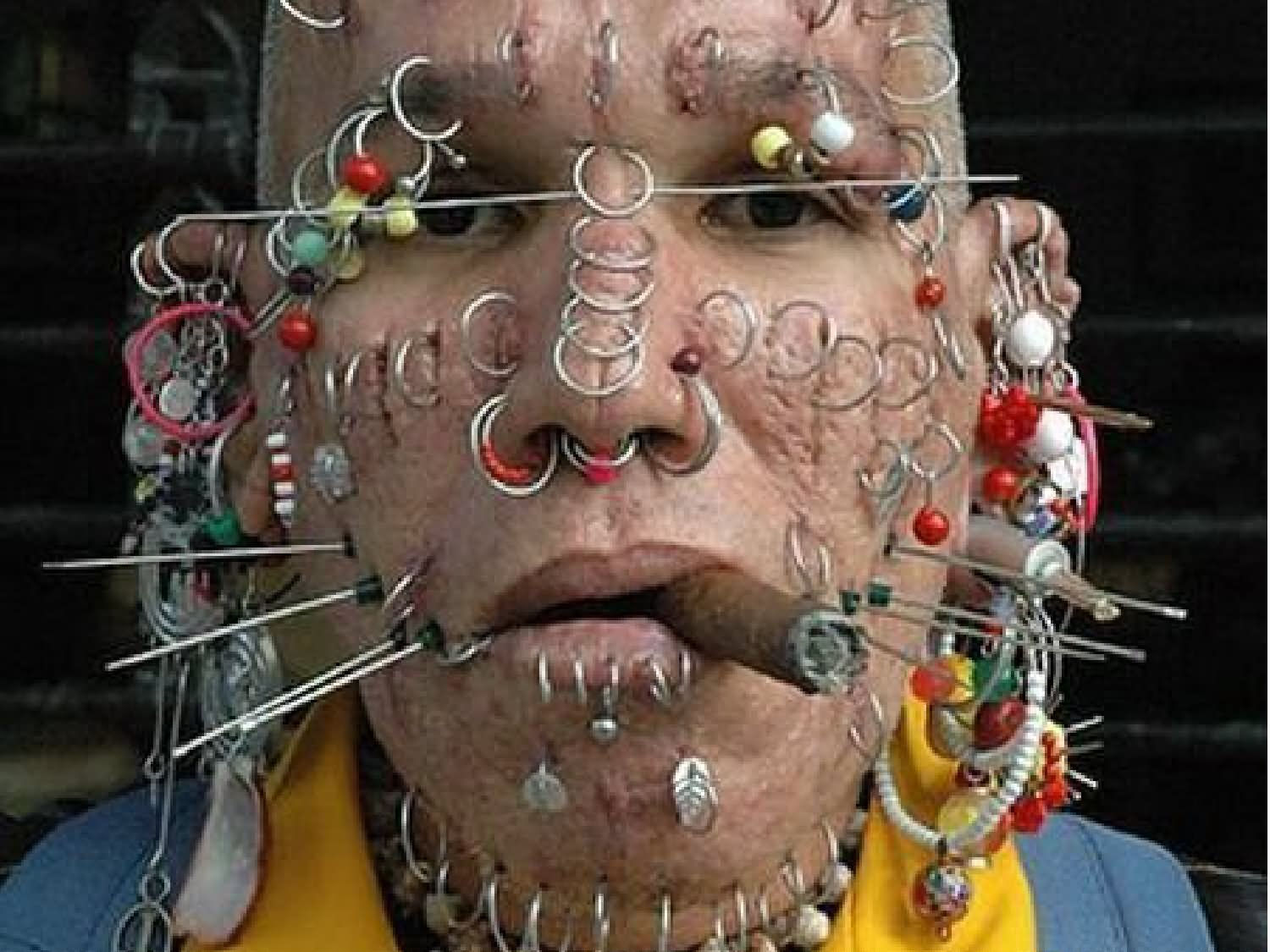 14+ Extreme Body Piercings Ideas