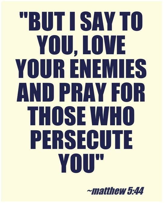 Image result for To be Perfect, Love your Enemies.
