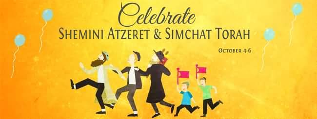 Simchat torah and shemini atzeret greetings celebrate shemini atzeret simchat torah m4hsunfo