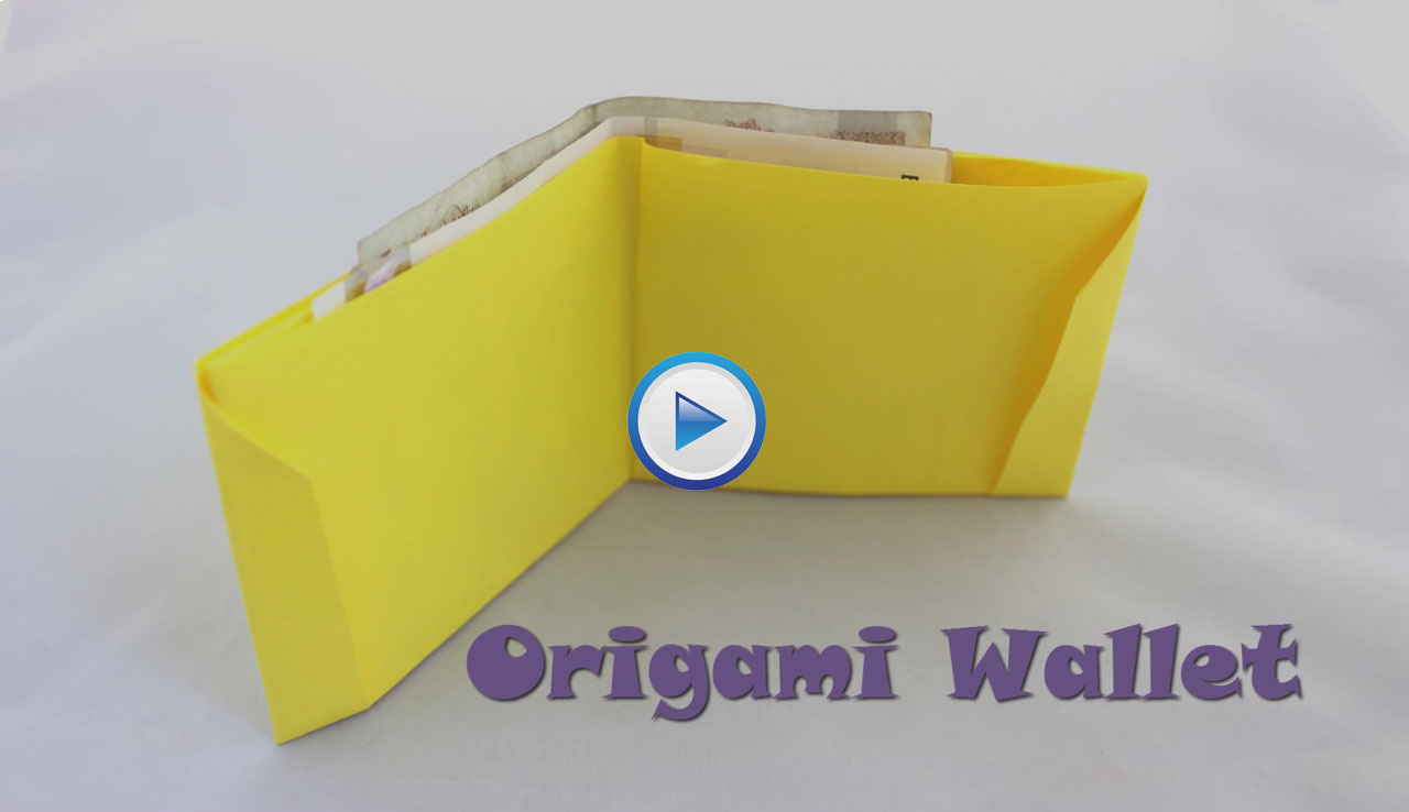 DIY Beautiful Paper Wallet