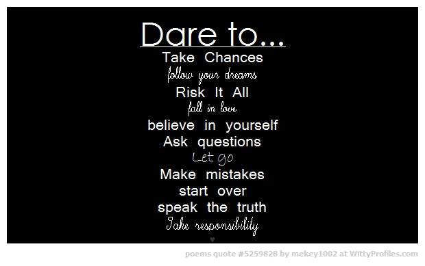 Dare Quotes Impressive 62 Best Daring Quotes And Sayings