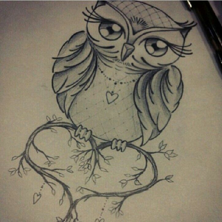 49 Best Ink Me Images On Pinterest: 42+ Owl Tattoos Ideas For Females