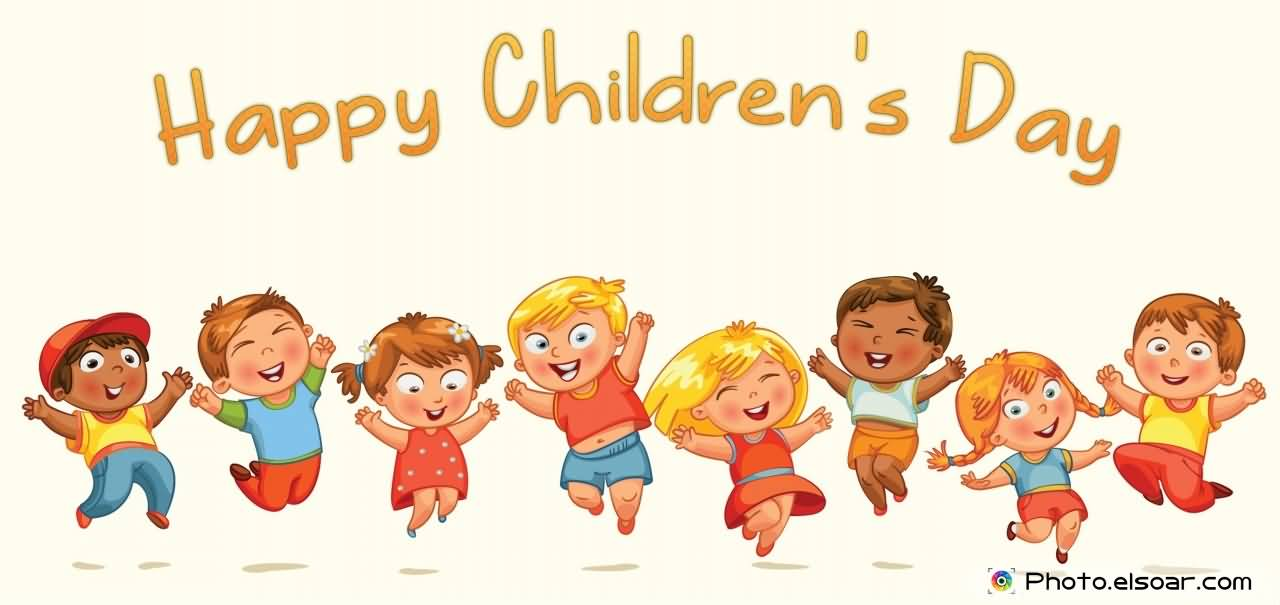 happy childrens day cartoon kids picture