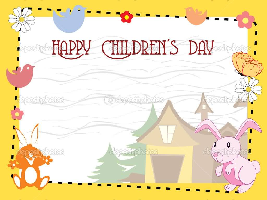 51 Happy Childrens Day Greeting Pictures