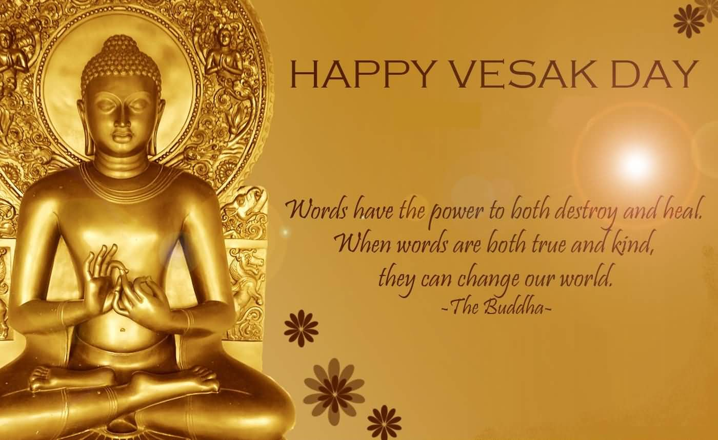 Happy vesak day lord buddha quote kristyandbryce Image collections