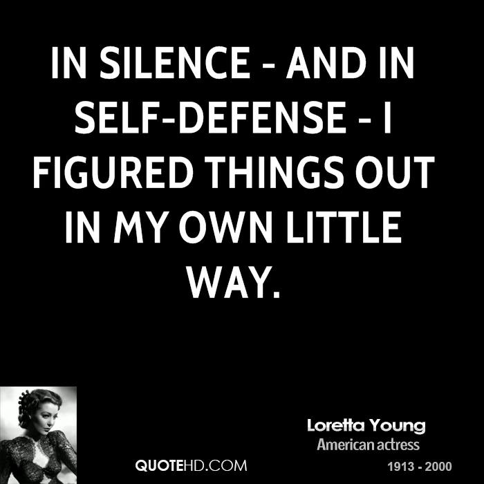 65 Best Defense Quotes And Sayings