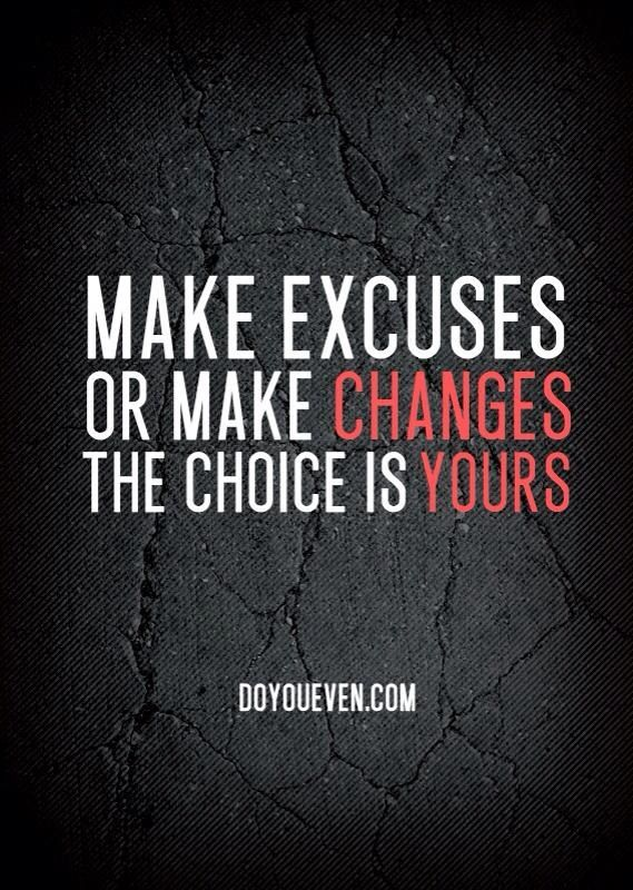 Excuses Quotes Cool 64 Beautiful Excuse Quotes And Sayings