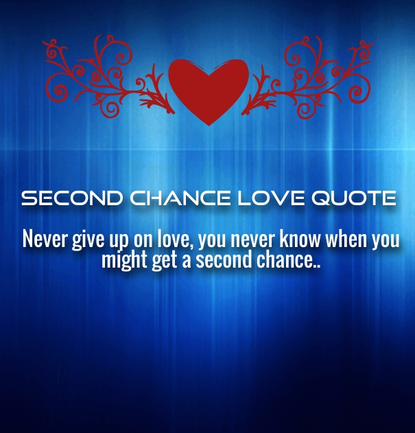 Another chance love quotes