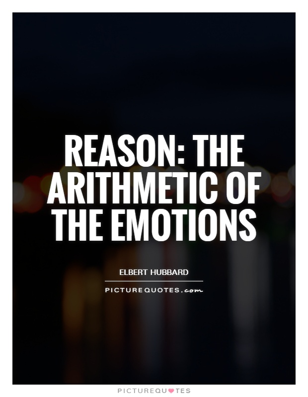 are reason and emotion equally in In this paper i will discuss whether reason and emotion are equally necessary in justifying moral decisions while presenting both aspects of the issue 4 pages (1000 words) essay are reason and emotion equally necessary in justifying moral decisions theory of knowledge essay.