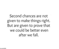 Another chance quotes on love