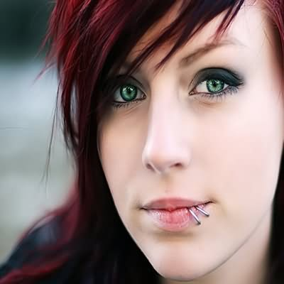 35+ Beautiful Lip Piercing Pictures For Girls