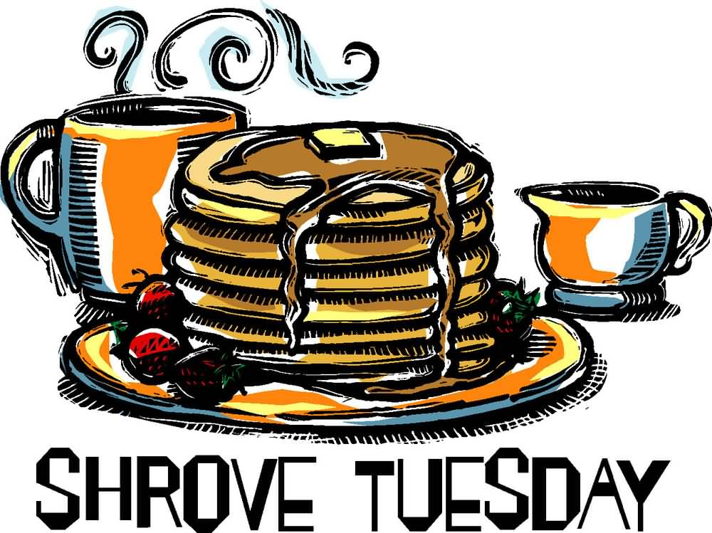 Pancakes on Shrove Tuesday with a fork wallpapers and images ...