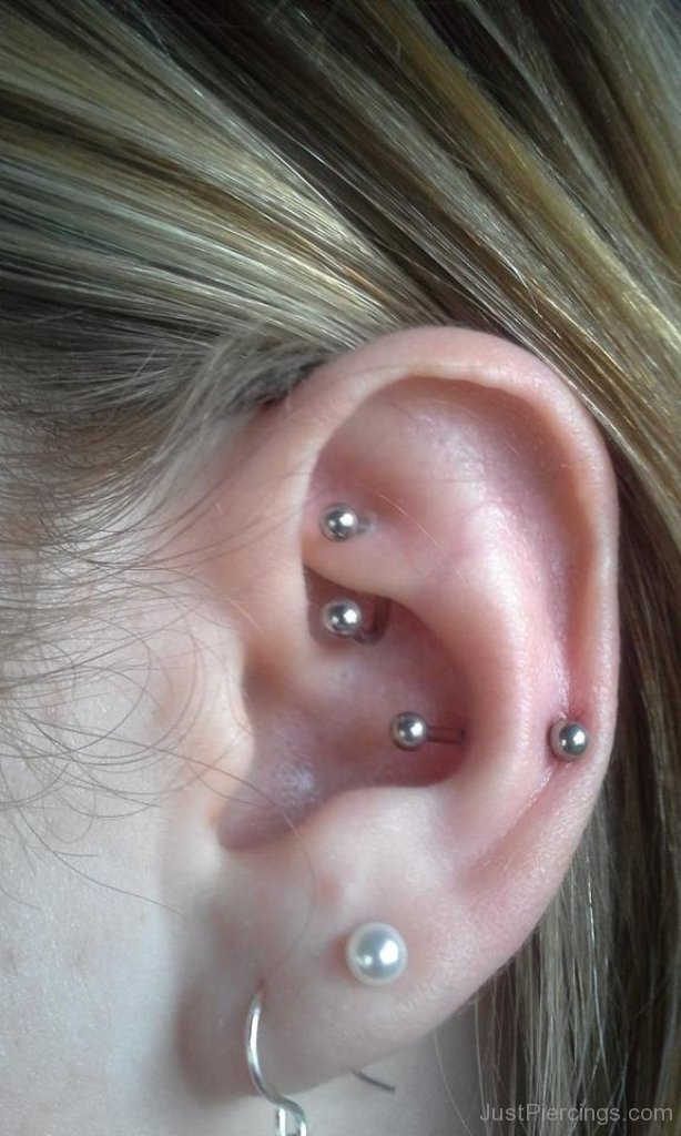 22+ Snug And Rook Piercing Pictures  Rook Piercing Stud