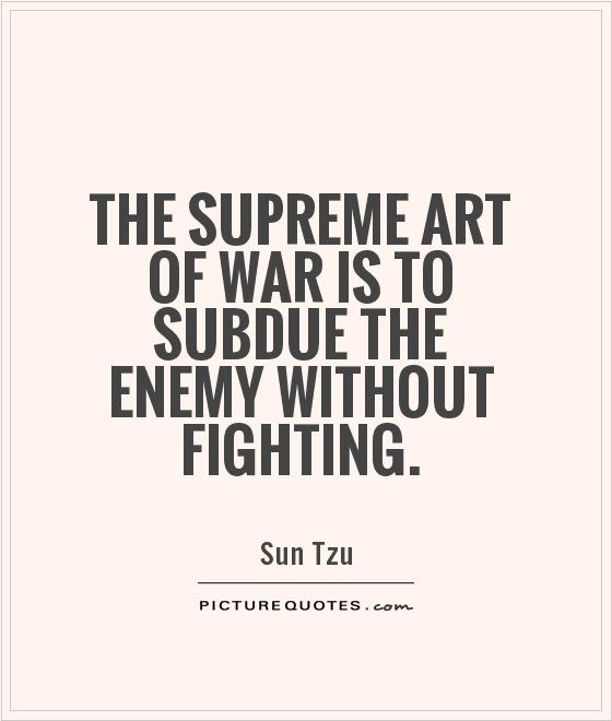 Art Of War Quotes: 65+ Best Enemy Quotes And Sayings