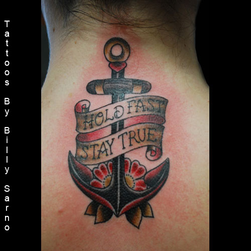 45 Banner Anchor Tattoos Collection
