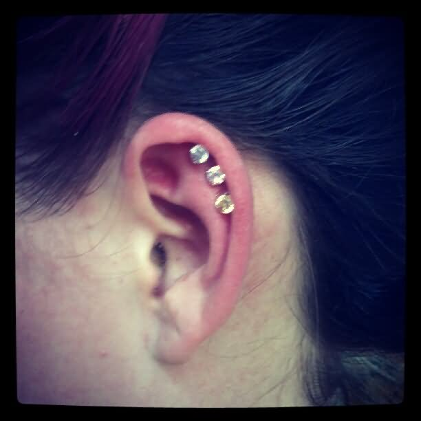 63+ Beautiful Cartilage Piercing Pictures