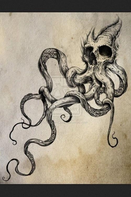 19+ Octopus Tattoos Designs