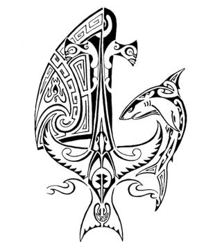 8 Polynesian Anchor Tattoos Collection