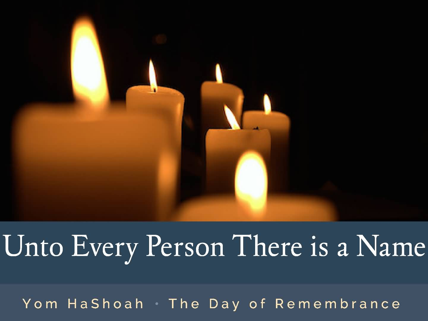 yom hashoah holocaust remembrance day