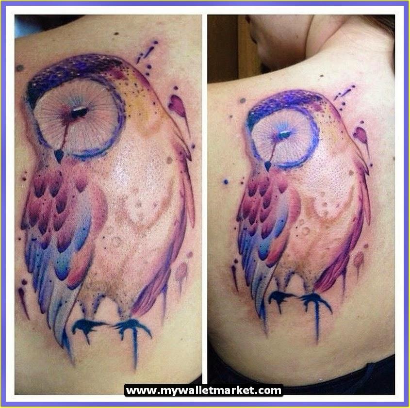 42+ Owl Tattoos Ideas For Females