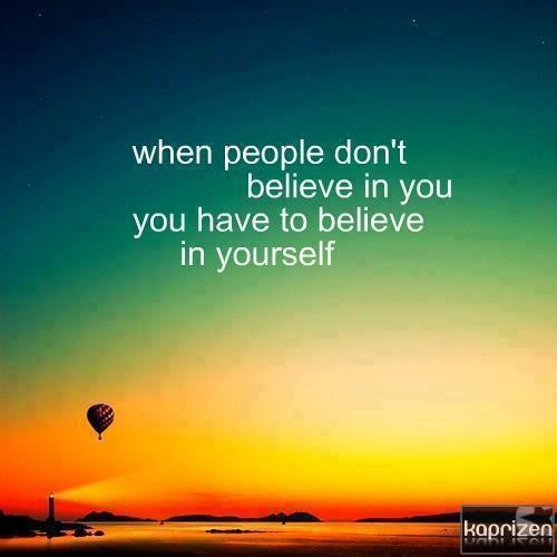 62 Best Believe In Yourself Quotes And Sayings
