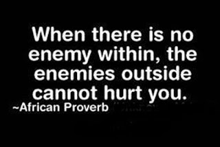 65 Best Enemy Quotes And Sayings