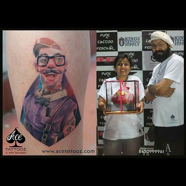 Read Complete Top 5 color tattooz by Ace tattooz