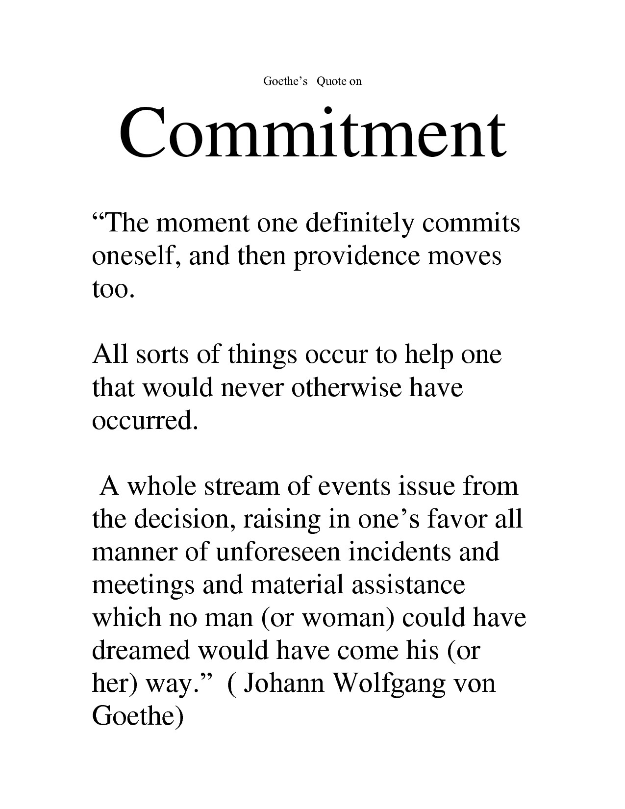 no commitment relationship meaning