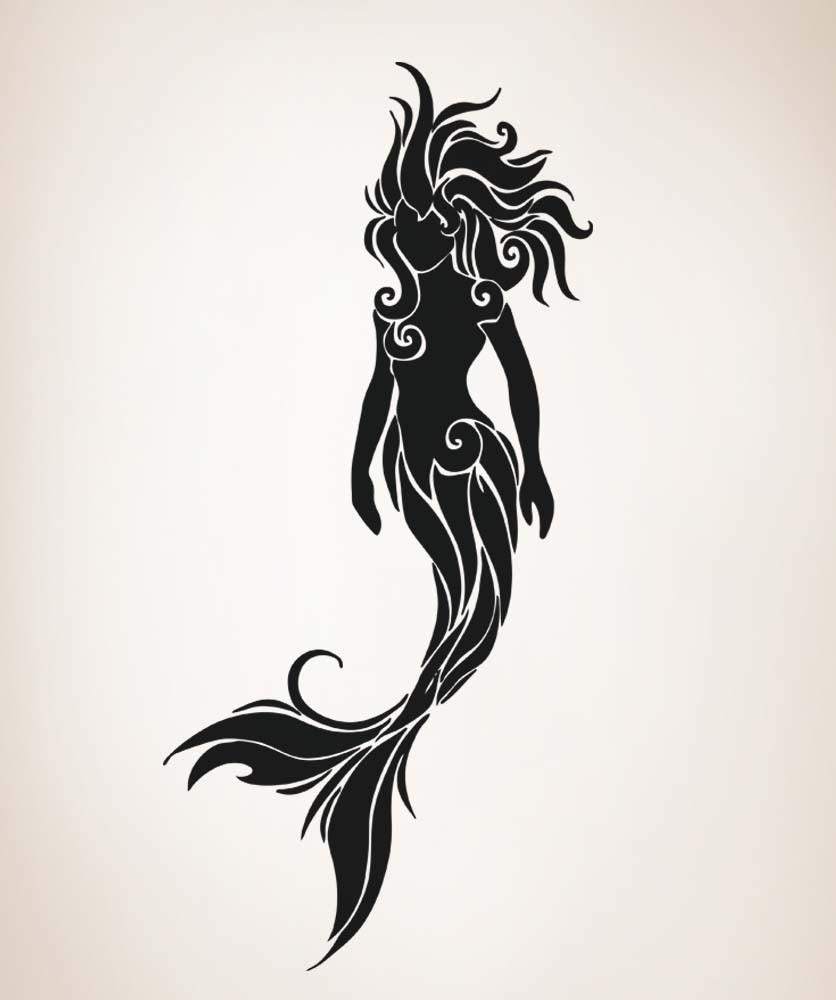 24 tribal mermaid tattoos ideas. Black Bedroom Furniture Sets. Home Design Ideas