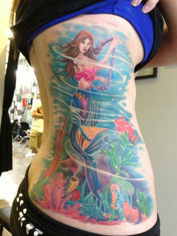 19 Mermaid Tattoos For Men