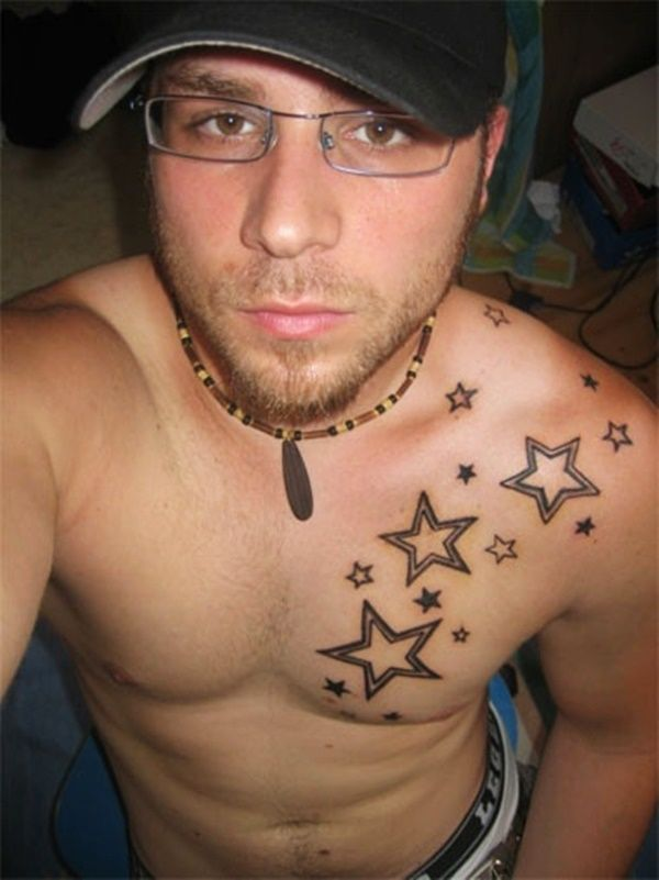 54+ Star Tattoos Ideas For Men