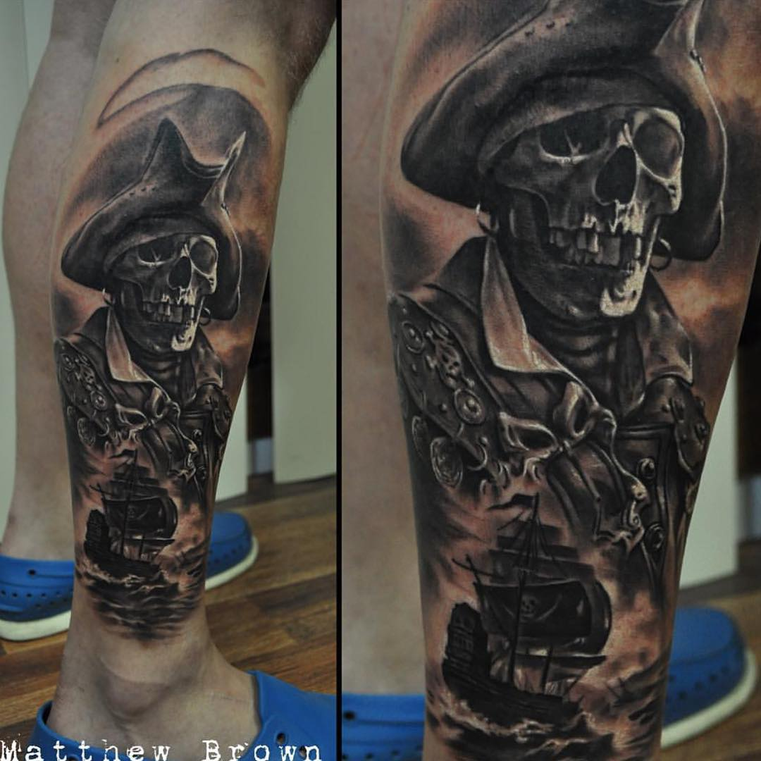 60+ Latest Pirate Tattoos Ideas
