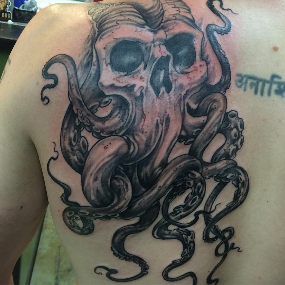 45+ Octopus Skull Tattoo Designs And Ideas