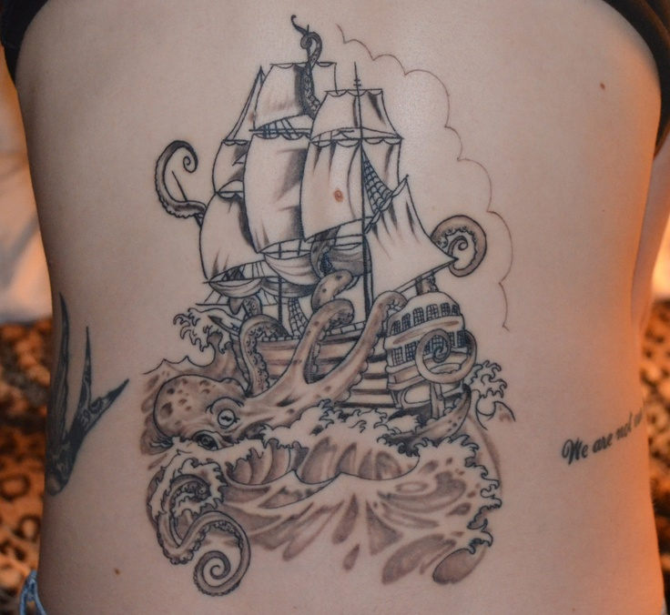37 Pirate Octopus Tattoos Collection