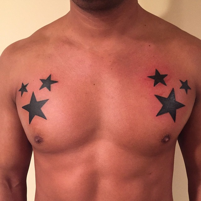 37+ Best Star Tattoos Collection