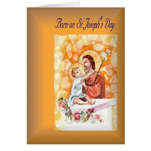 38 most wonderful saint josephs day greeting pictures born on st josephs day greeting card m4hsunfo